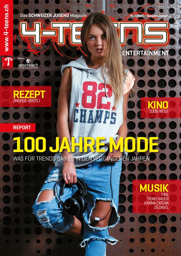 100 Jahre Mode / Burgen + Schüler  (4-Teens) Cover